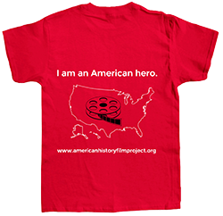 T-shirt - American History Film Project Preview Party